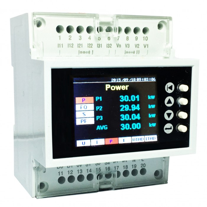 3 Phase Power Monitor : Three phase power meter me